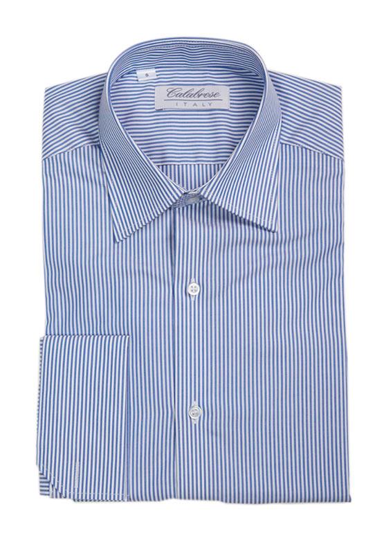 Camisa a rayas Azules