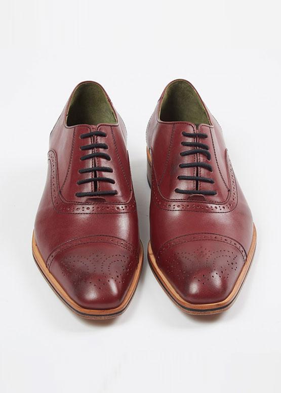 Zapato MONZA color uva