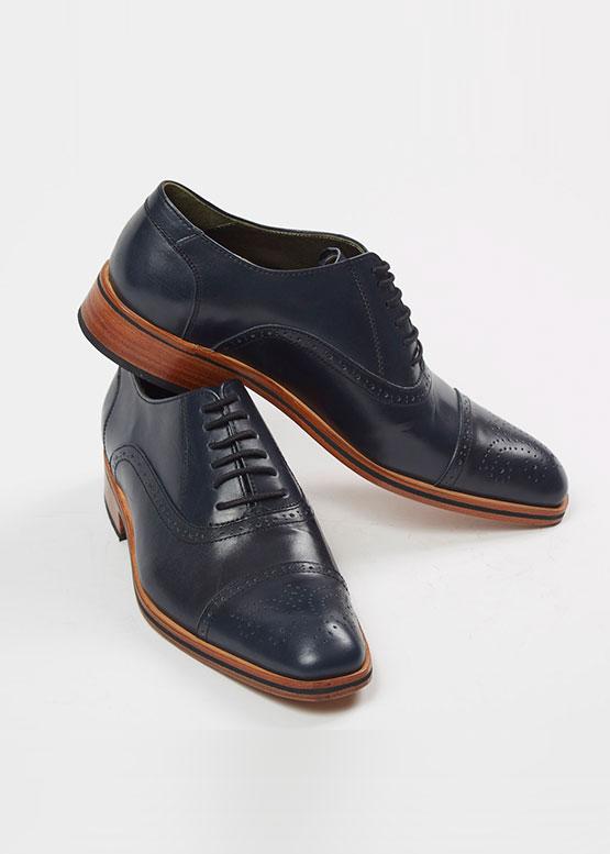 Zapato Monza color azul